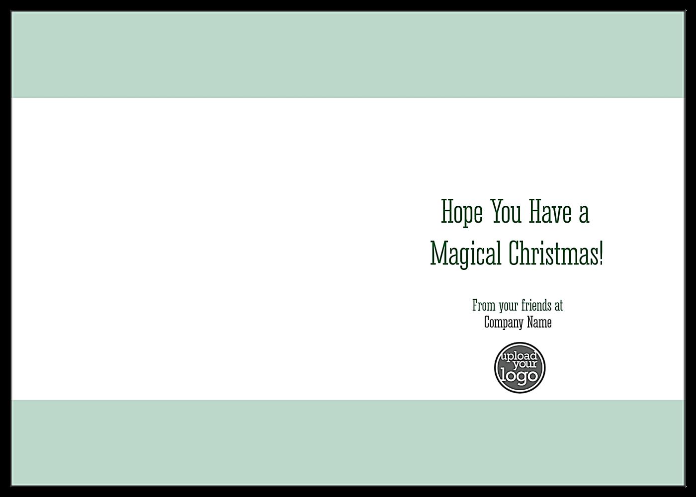 Top Hat Ornament back - Greeting Cards Maker