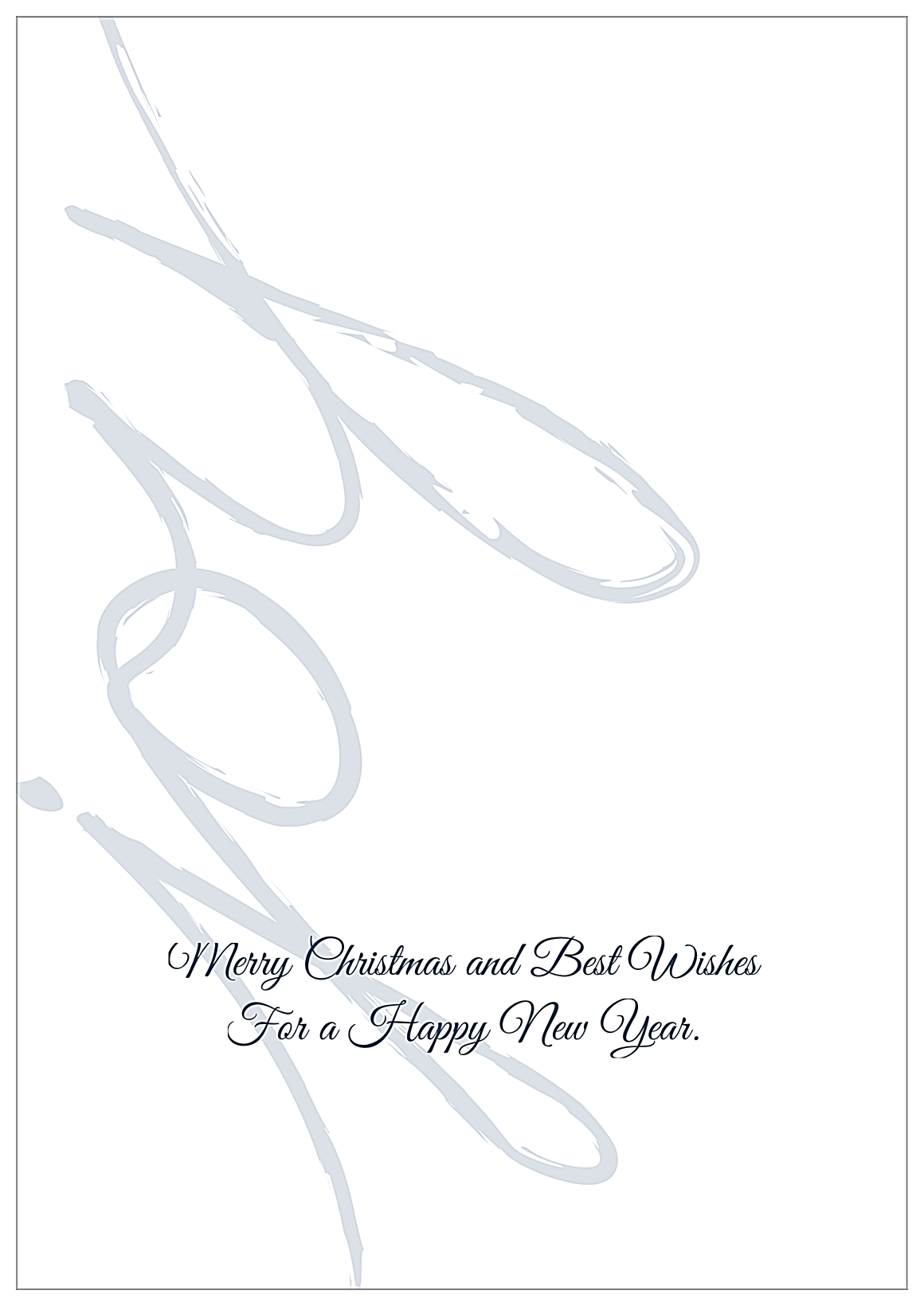 Joyful, Joyful back - Greeting Cards Maker