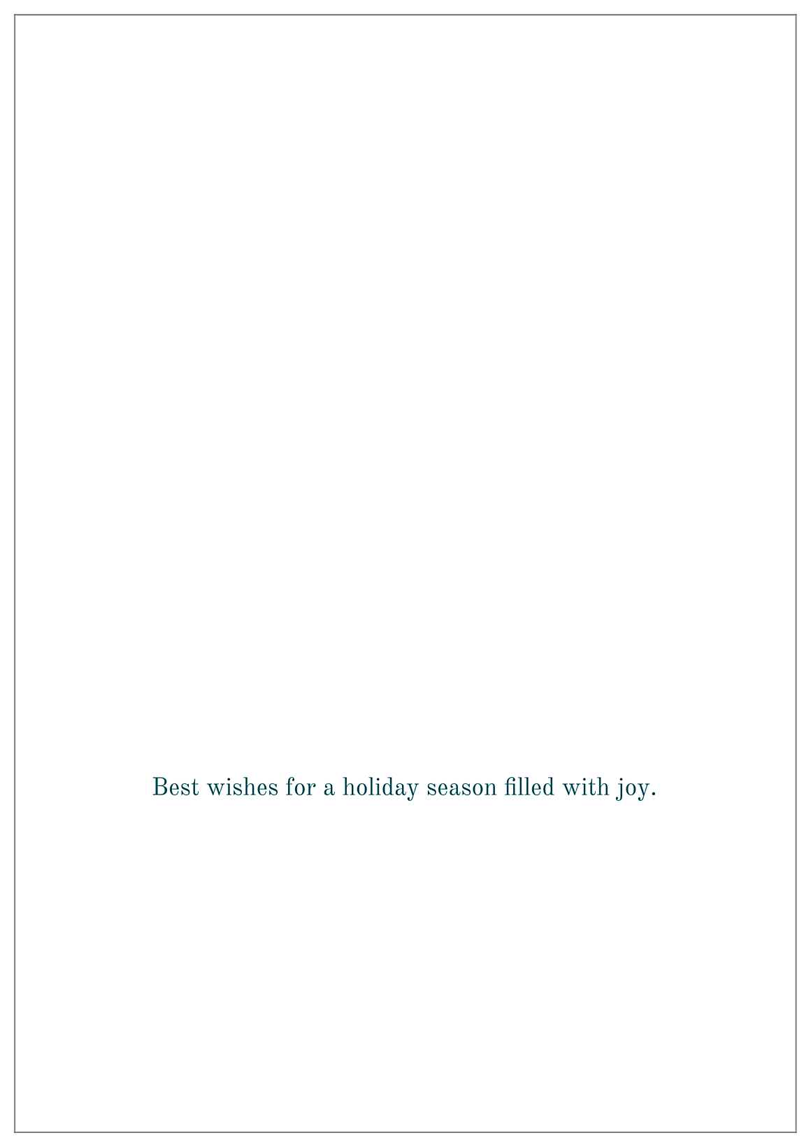 Merry Family back - Greeting Cards Maker