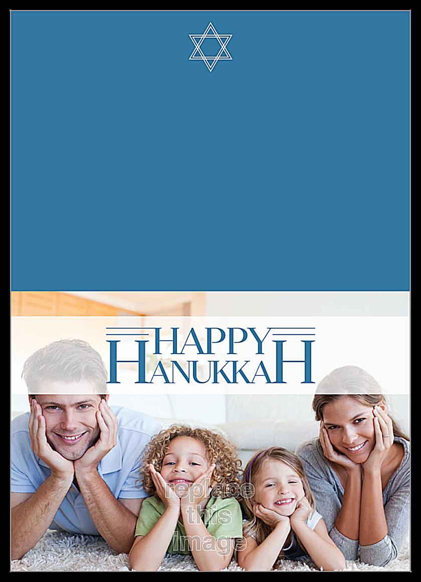 Hanukkah Time front - Greeting Cards Maker
