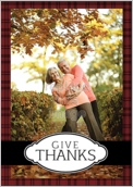 Thanks Plaid - greeting-cards Maker