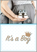 Baby Shoes - greeting-cards Maker