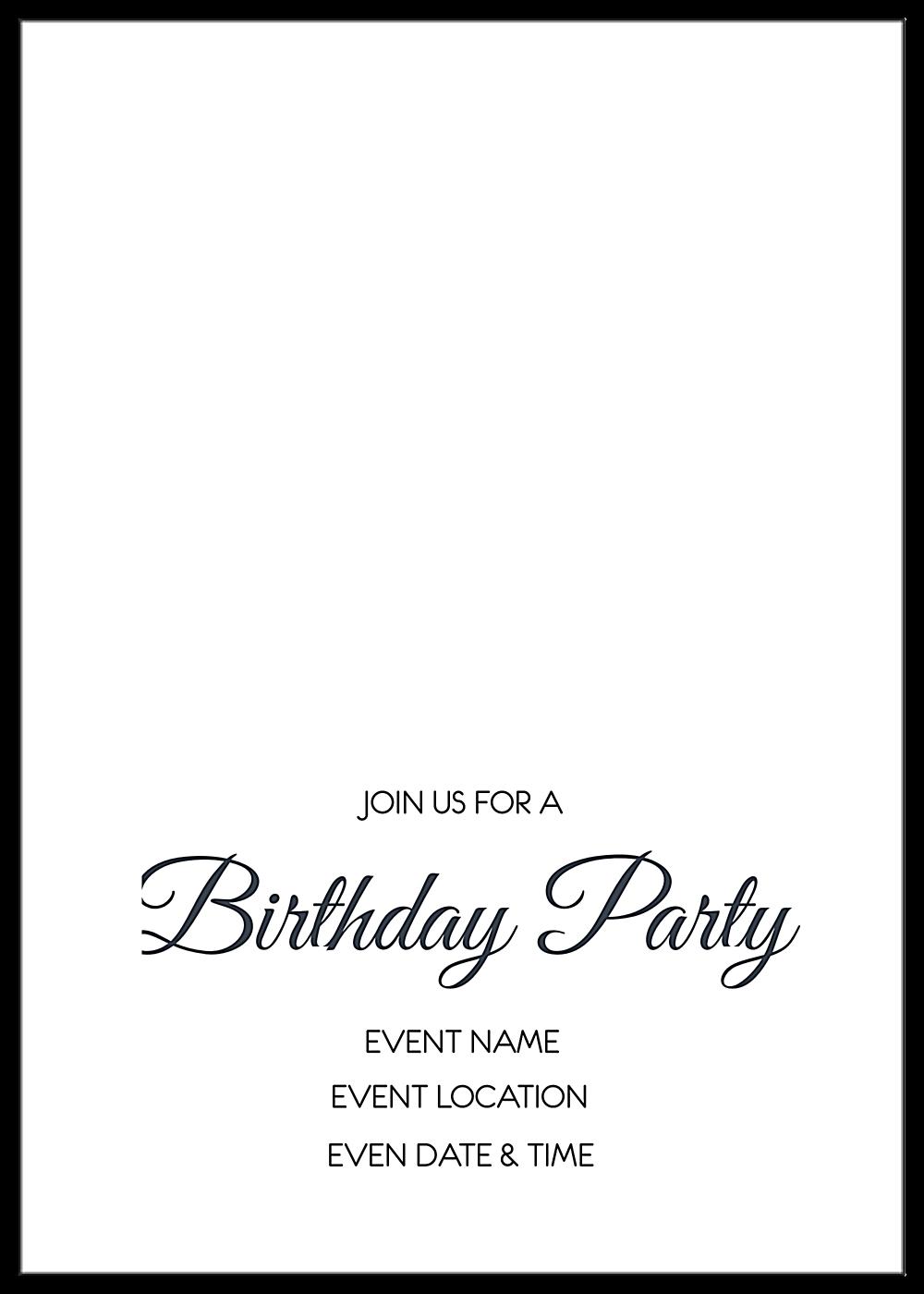 Fun Birthday back - Greeting Cards Maker