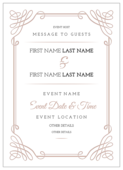 Scroll Down the Aisle - invitation-cards Maker