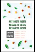 Fruit Leaves - invitation-cards Maker