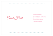Flower Dots - invitation-cards Maker