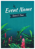 Tropical Event - invitation-cards Maker