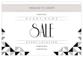 Contrast Sale - invitation-cards Maker