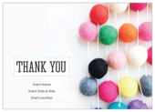 Thank You Party - invitation-cards Maker