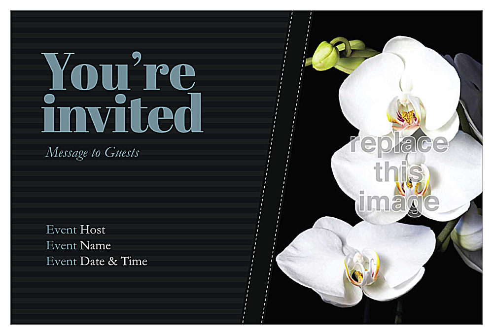 Ribbon front - Invitation Cards Maker
