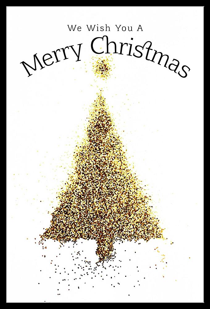 Golden Tree front - Invitation Cards Maker