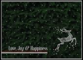 Swirl Reindeer - invitation-cards Maker