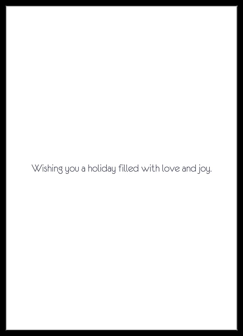 Fall Reflections back - Invitation Cards Maker