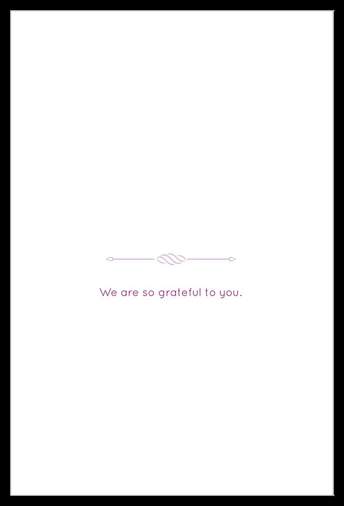 Thanks back - Invitation Cards Maker