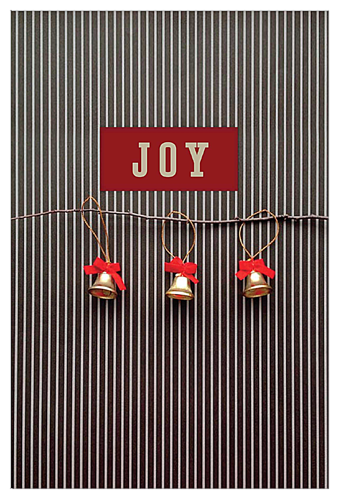 Striped Joy front - Invitation Cards Maker