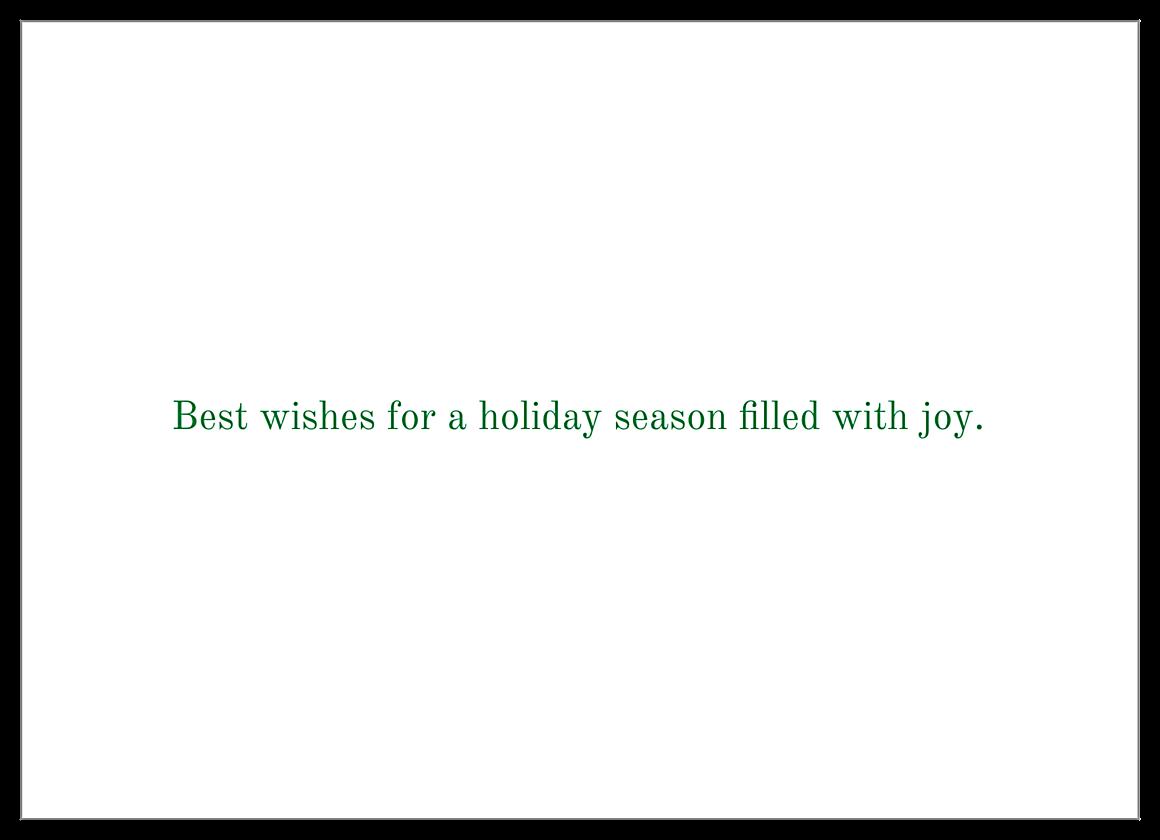 Merry Family back - Invitation Cards Maker