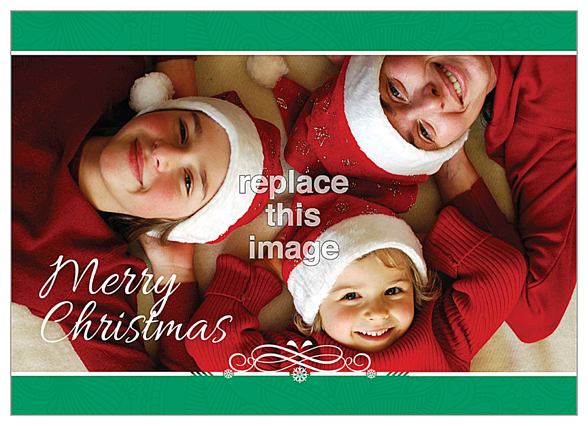 Merry Family front - Invitation Cards Maker