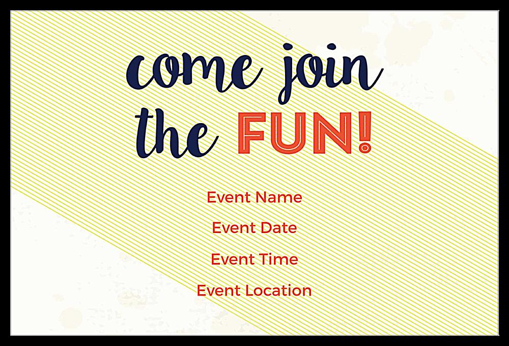 Social Birthday back - Invitation Cards Maker
