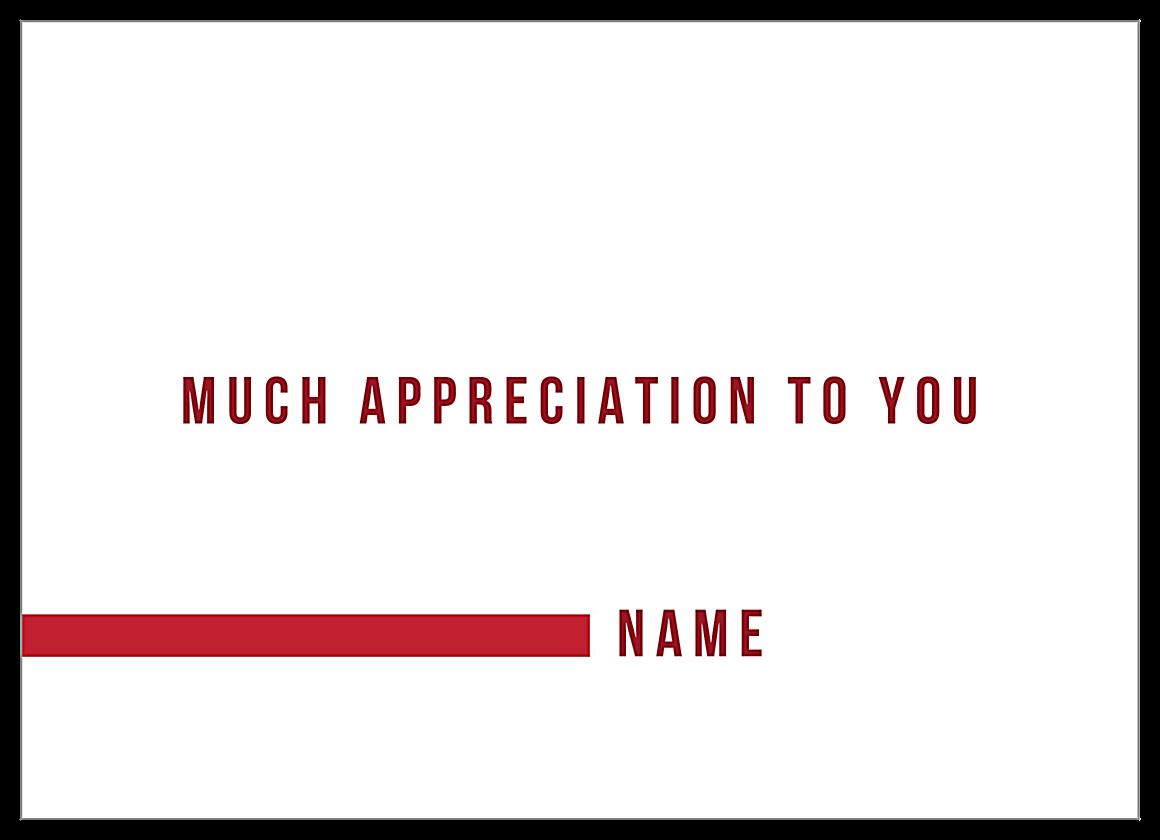 Big Thanks back - Invitation Cards Maker
