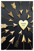 Arrow Thanks - invitation-cards Maker