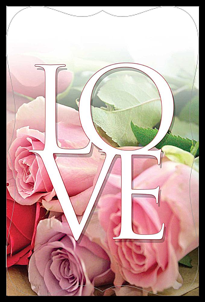 Valentine Roses front - Invitation Cards Maker