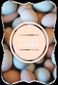 Easter Eggs - invitation-cards Maker