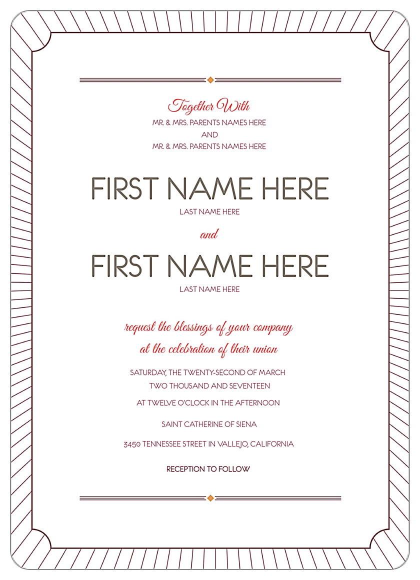 Love is Radiant back - Invitation Cards Maker