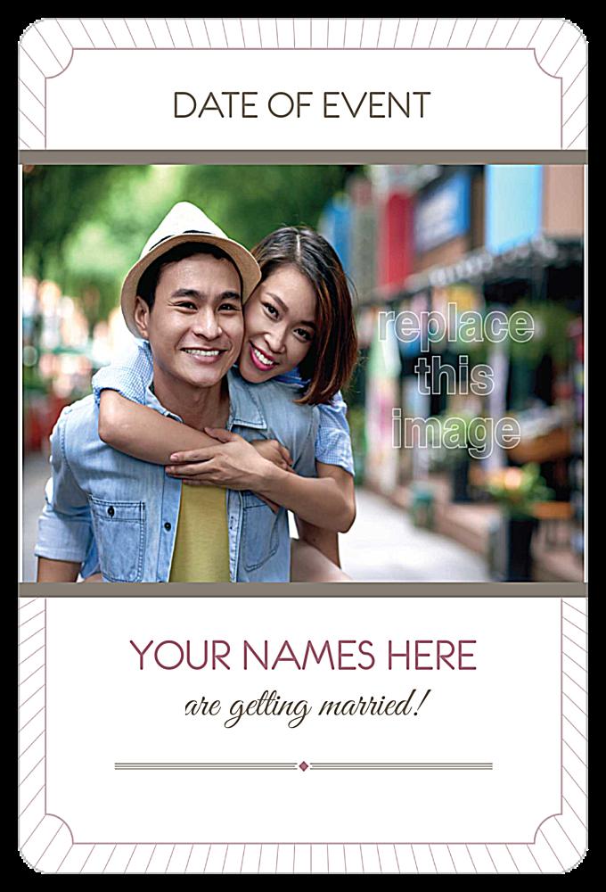 Love is Radiant back - Invitation Cards Maker