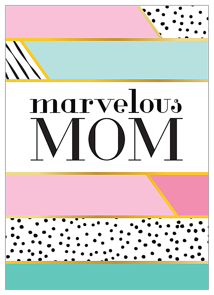 Marvelous Mom front - Invitation Cards Maker