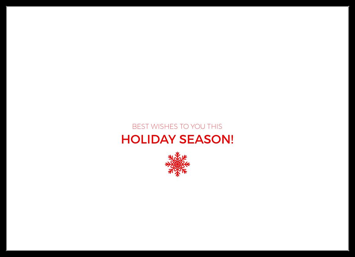 Snow Fun back - Invitation Cards Maker