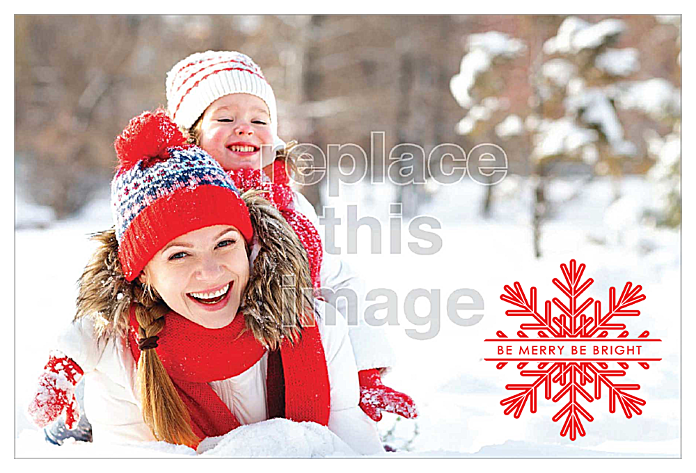 Snow Fun front - Invitation Cards Maker