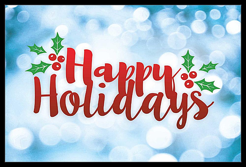 Holiday Glitterati front - Invitation Cards Maker