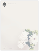Hydrangea Elegance - letterhead Maker