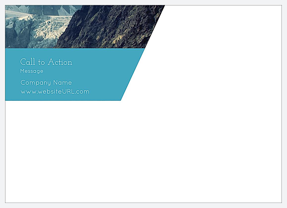Mountain High back - Postcards Maker