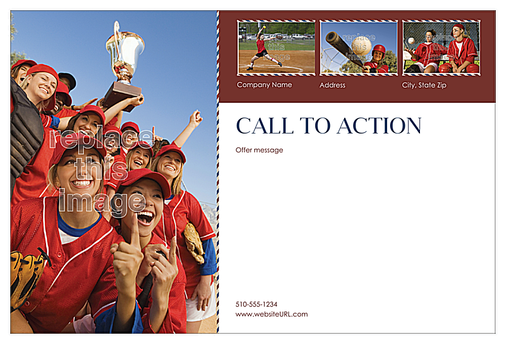 Team Spirit back - Postcards Maker