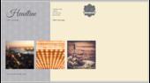Swirly Banner - postcards Maker
