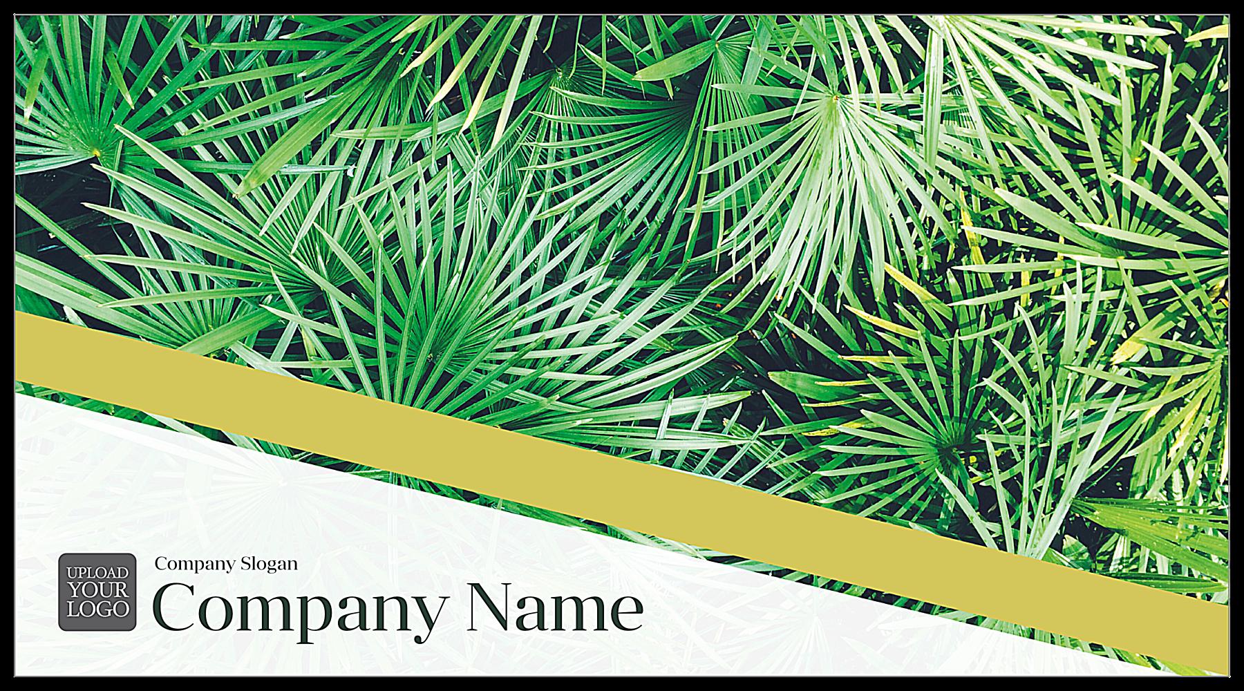 Palm Leaves front - Postcards Maker