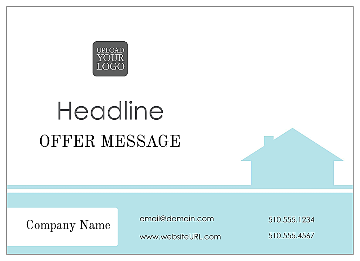 Home Again Real Estate front - Postcards Maker