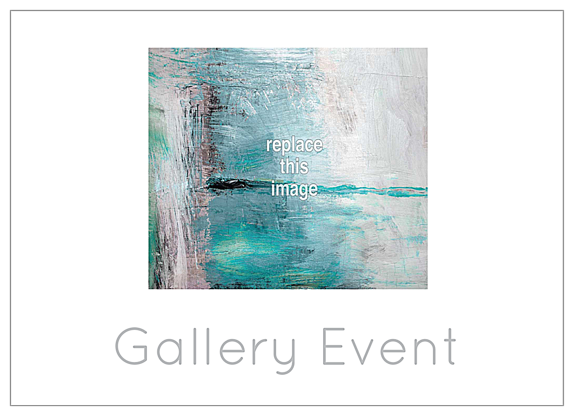 Event at the Gallery front - Postcards Maker