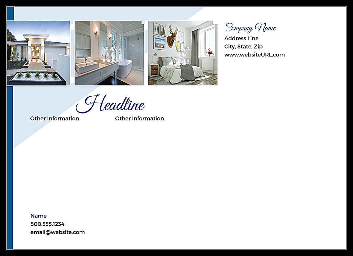 Showcase Estate back - Postcards Maker