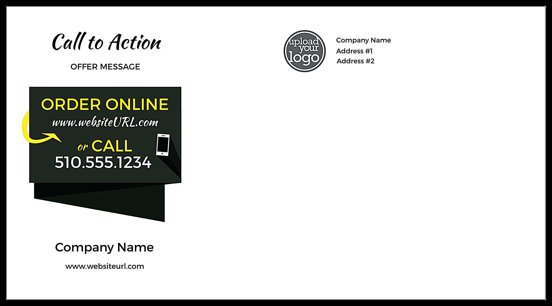 Online Order Up back - Postcards Maker