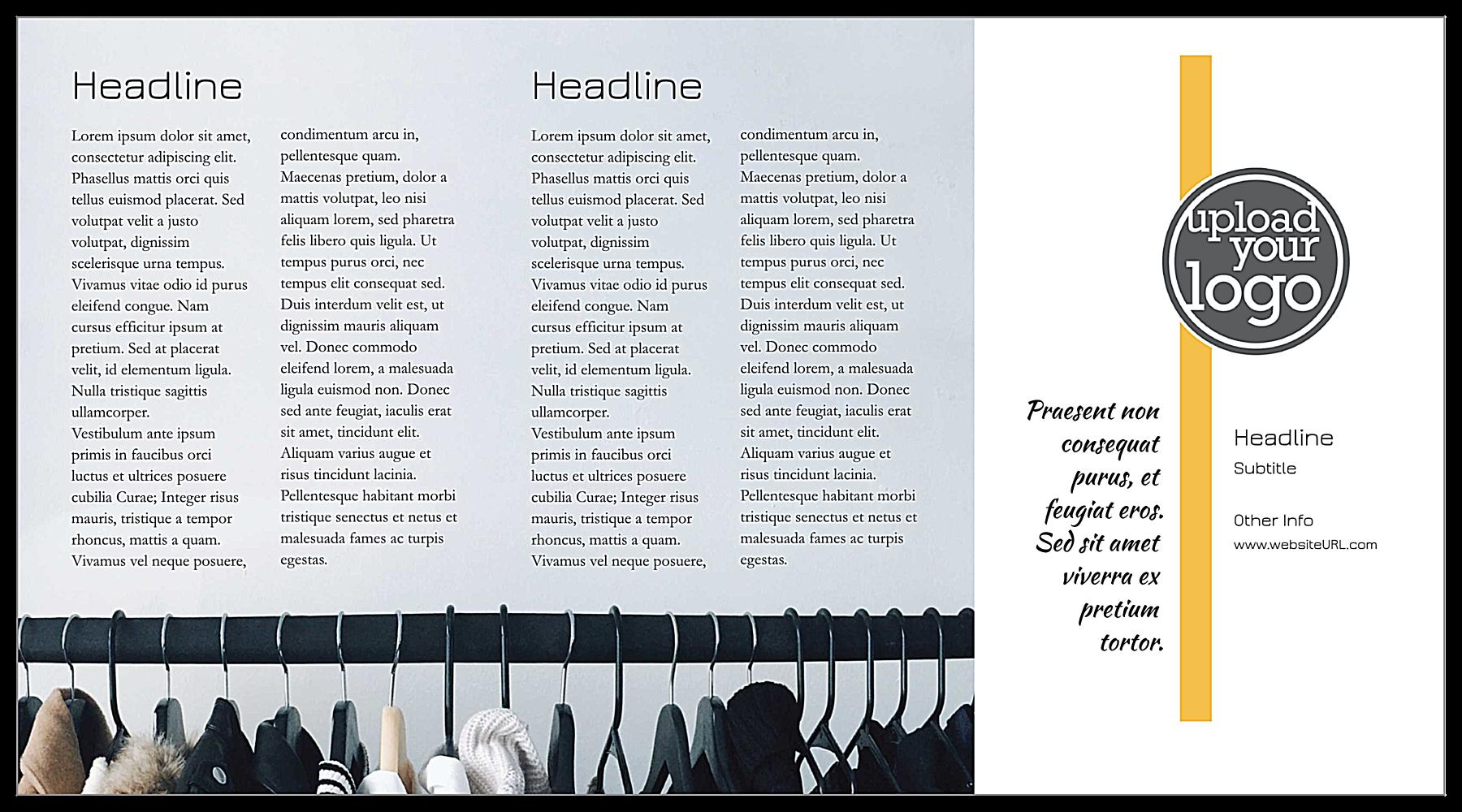 Sleek Boutique back - Postcards Maker