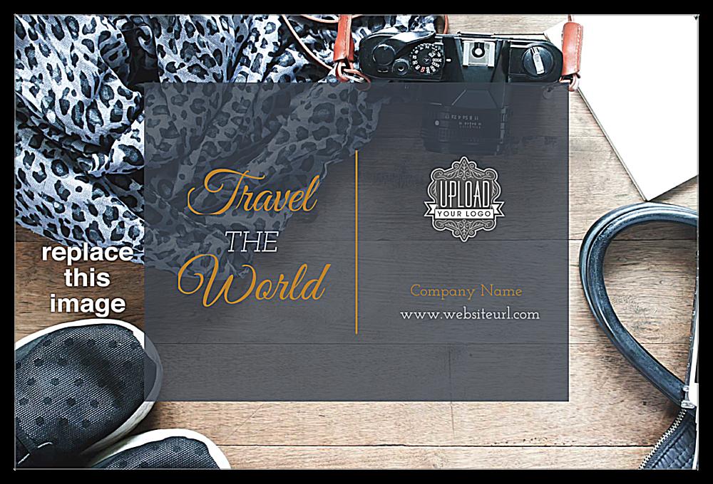 Travel the World front - Postcards Maker