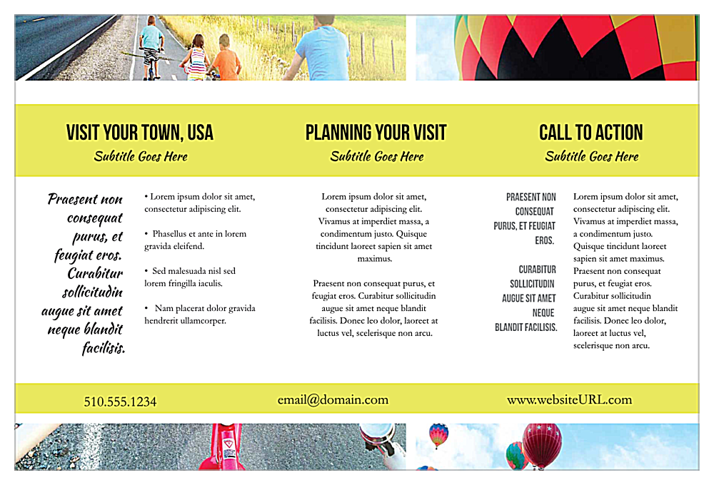 Small Town Tourism back - Postcards Maker