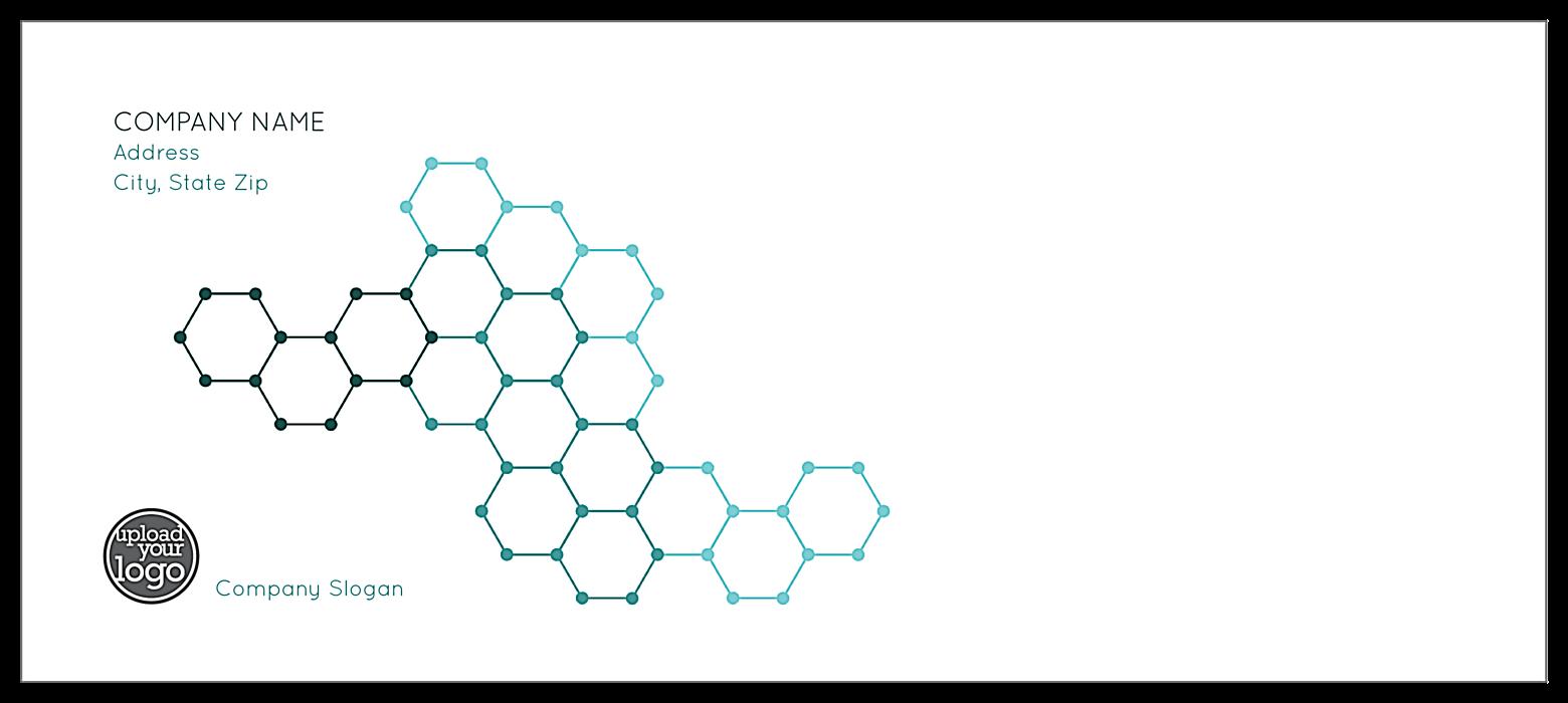 Molecule Strand front - Standard Envelopes Maker