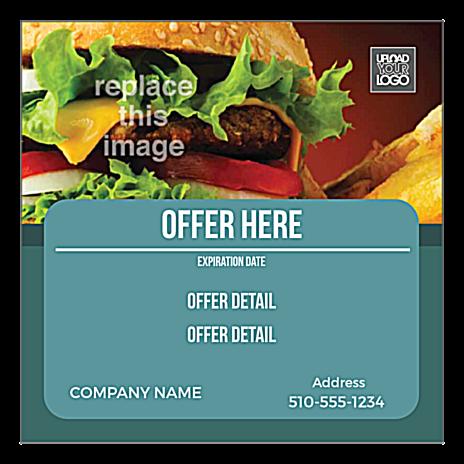 Burgers front - Standard Magnets Maker