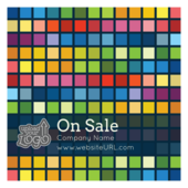 Colored Pixels - stickers-labels Maker