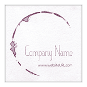 Wine Stain - stickers-labels Maker