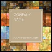 Shimmering Squares - stickers-labels Maker