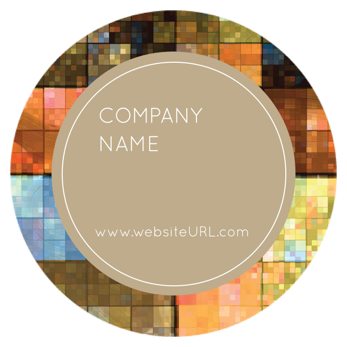 Shimmering Squares front - Stickers Maker